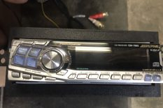 ALPINE CD PLAYER FOR CAR OR SUV AND SPEAKER SYSTEM