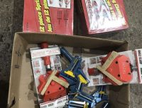 Spring clamps and angle clamps