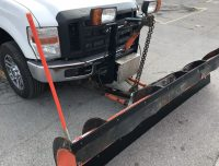 9 FOOT ARCTIC PLOW FITS 2008 F250 FORD