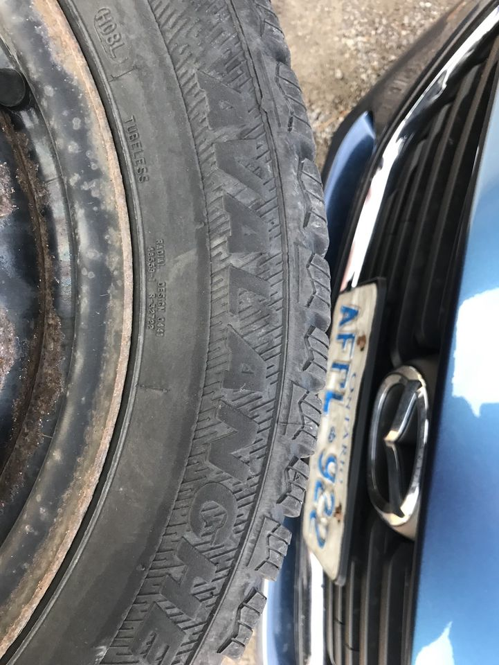SNOW TIRES 205 55 16 and 175 65 14