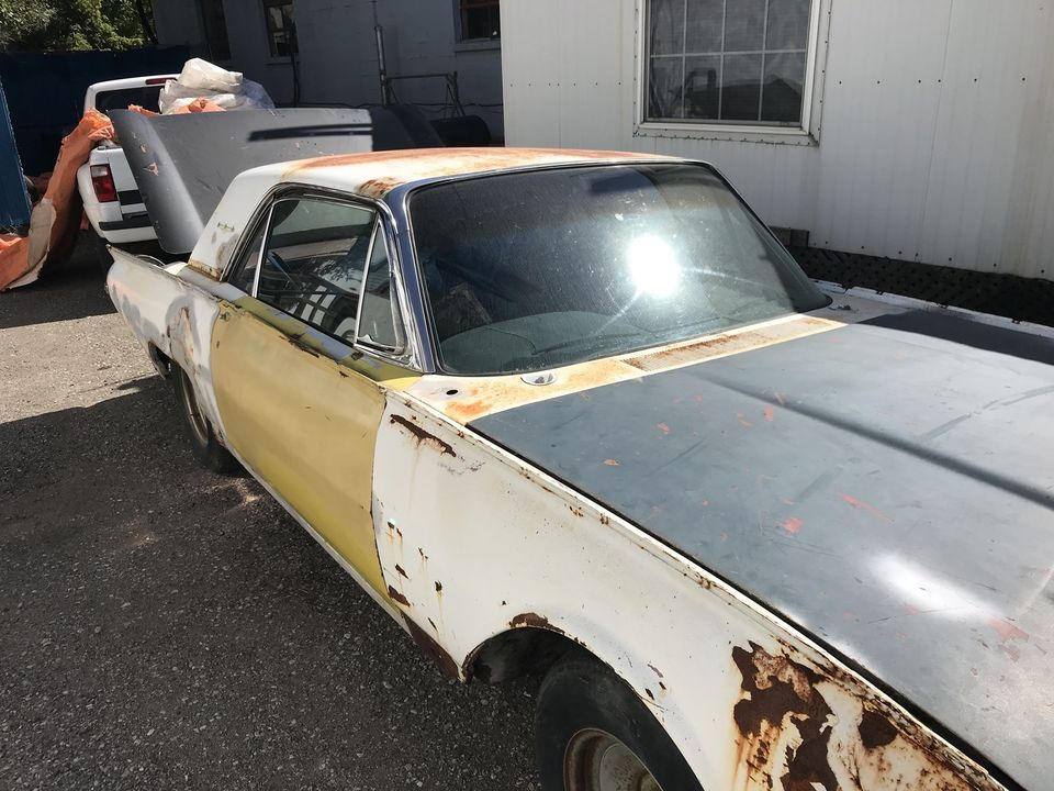 62 Ford Thunderbird parting out cheap