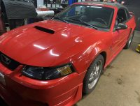 2003 FORD MUSTANG GT WITH ONLY 87K ORIGINAL CERT