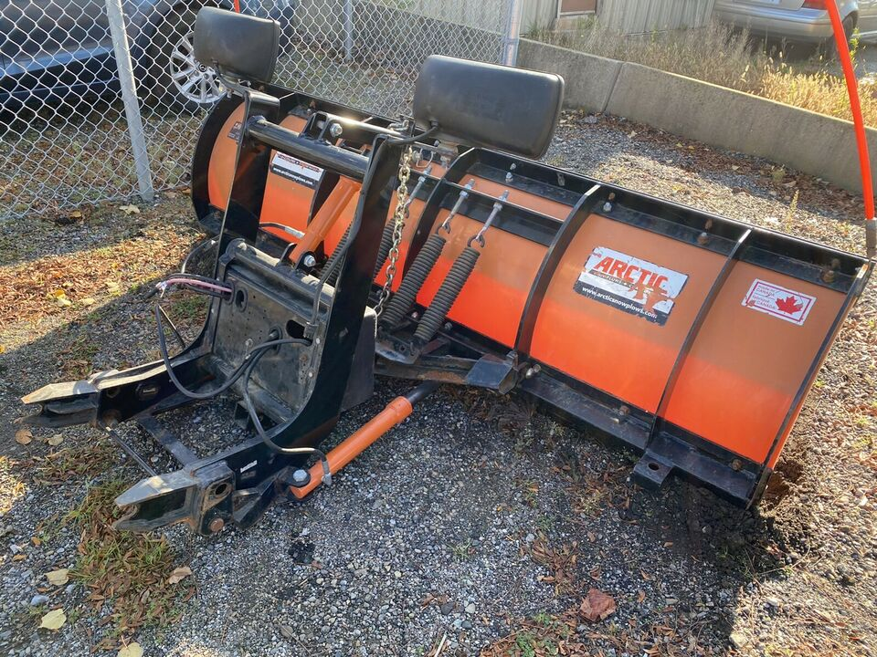Lightweight snow plow for your late model truck