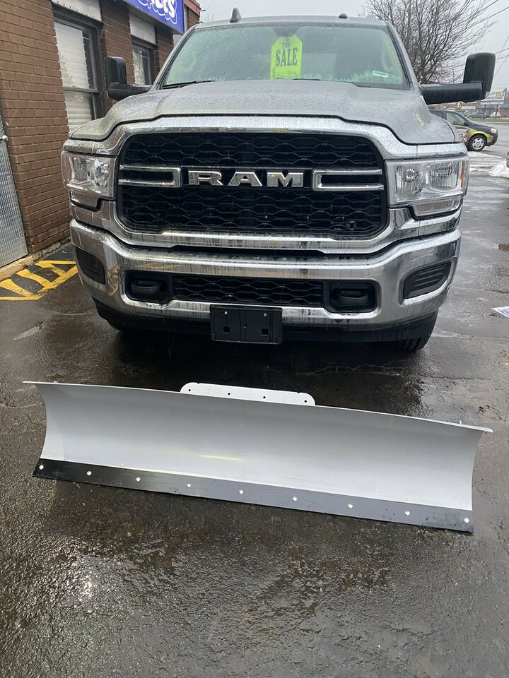 New snow blade mounted on your newer Dodge truck