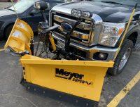 Meyer v plow snow plow